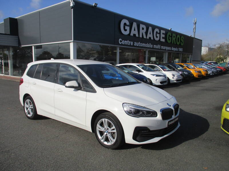 Voir la photo n°1 de la voiture d'occasion BMW SERIE 2 GRAN TOURER F46 LCI — Gran Tourer 218d 150 ch BVA8 Lounge