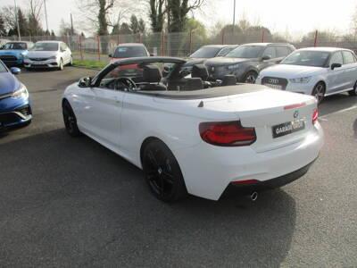Voir la photo n°2 de la voiture d'occasion BMW SERIE 2 CABRIOLET F23 LCI2 — Cabriolet 218d 150 ch BVA8 M Sport