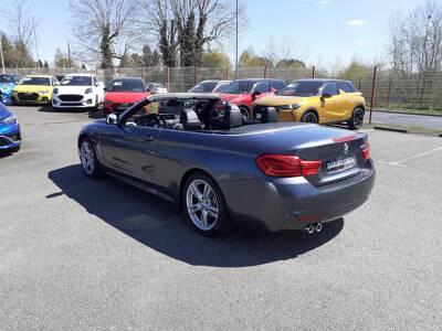 Voir la photo n°3 de la voiture d'occasion BMW SERIE 4 CABRIOLET F33 LCI — Cab 420d 190 ch BVA8 M Sport