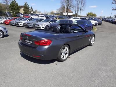 Voir la photo n°4 de la voiture d'occasion BMW SERIE 4 CABRIOLET F33 LCI — Cab 420d 190 ch BVA8 M Sport