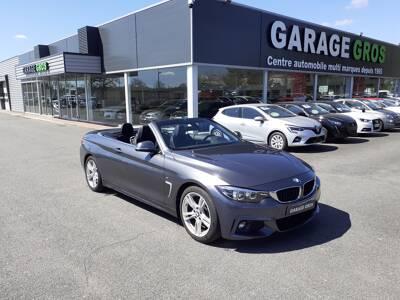 Voir la photo n°2 de la voiture d'occasion BMW SERIE 4 CABRIOLET F33 LCI — Cab 420d 190 ch BVA8 M Sport