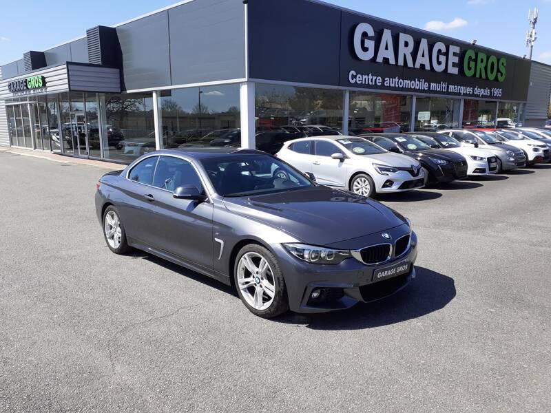 Voir la photo n°1 de la voiture d'occasion BMW SERIE 4 CABRIOLET F33 LCI — Cab 420d 190 ch BVA8 M Sport