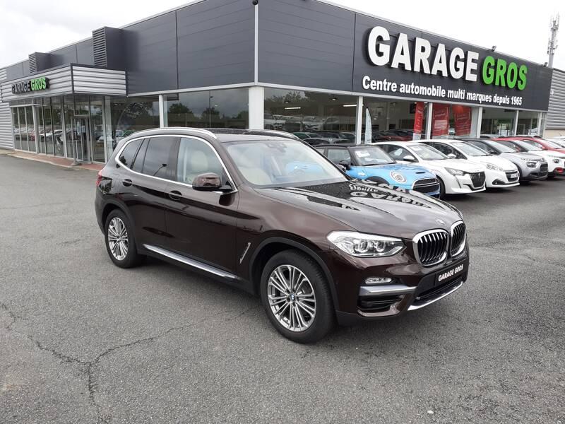 Voir la photo n°1 de la voiture d'occasion BMW X3 G01 — xDrive20d 190ch BVA8 Luxury
