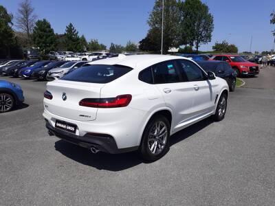 Voir la photo n°3 de la voiture d'occasion BMW X4 G02 — xDrive30d 286 ch BVA8 M Sport