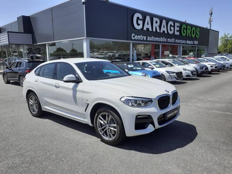 Voir la photo n°1 de la voiture d'occasion BMW X4 G02 — xDrive30d 286 ch BVA8 M Sport