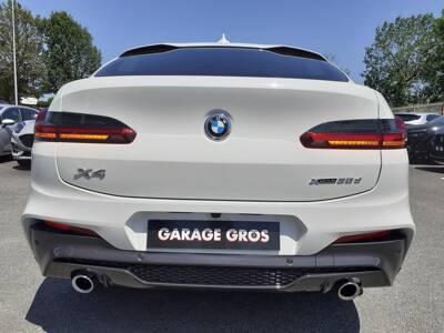 Voir la photo n°4 de la voiture d'occasion BMW X4 G02 — xDrive30d 286 ch BVA8 M Sport