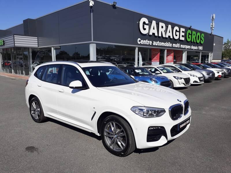Voir la photo n°1 de la voiture d'occasion BMW X3 G01 — xDrive30d 286ch BVA8 M Sport