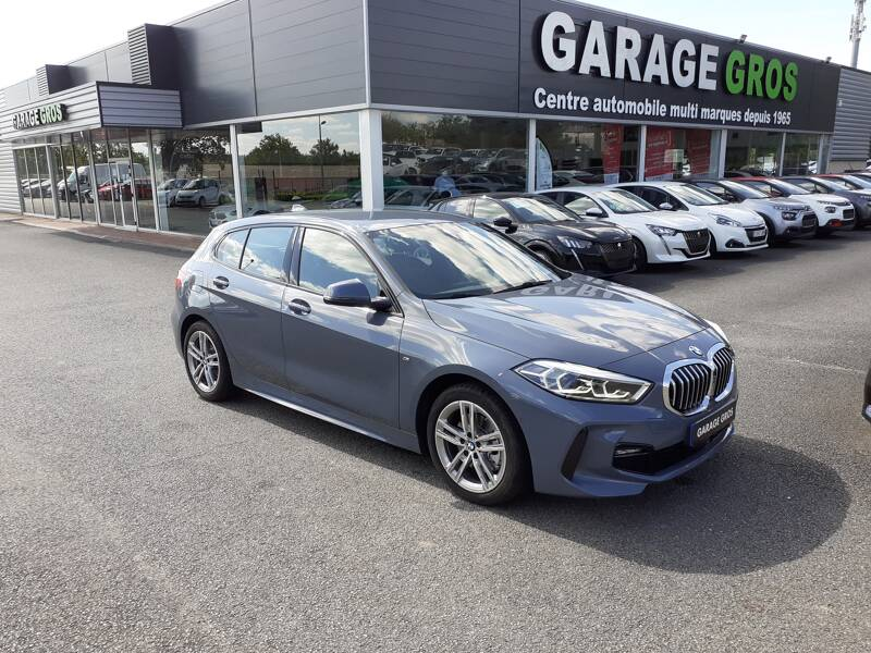Voir la photo n°1 de la voiture d'occasion BMW SERIE 1 F40 — 118d 150 ch BVA8 M Sport