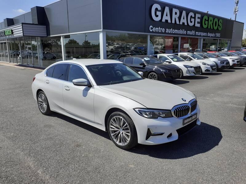 Voir la photo n°1 de la voiture d'occasion BMW SERIE 3 G20 — 318d 150 ch BVA8 Luxury