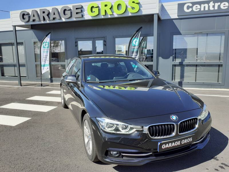 Voir la photo n°1 de la voiture d'occasion BMW SERIE 3 F30 LCI2 — 318d 150 ch BVA8 Business Design