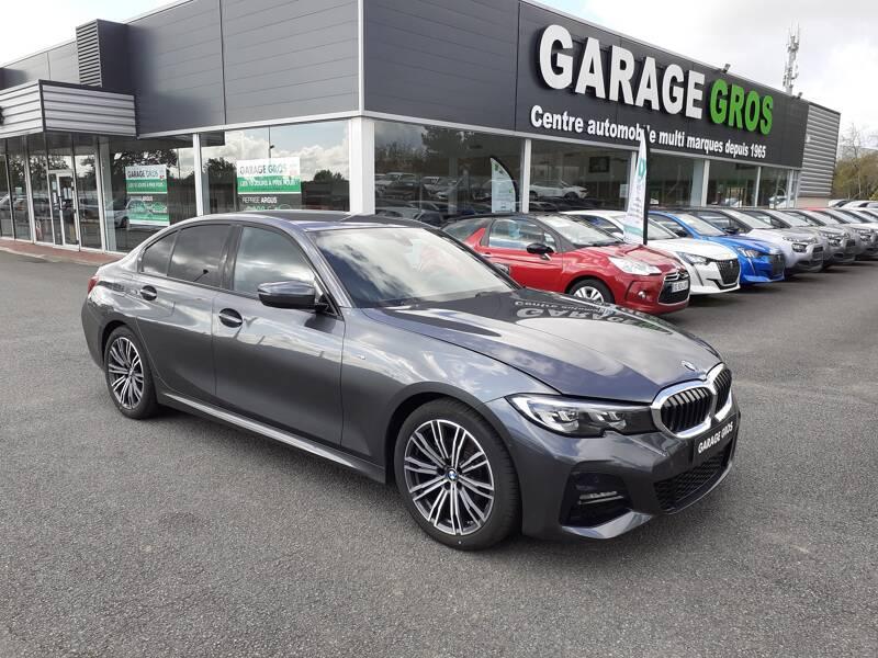 Voir la photo n°1 de la voiture d'occasion BMW SERIE 3 G20 — 318d 150 ch BVA8 M Sport